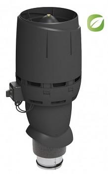 Vilpe ECO125P/Ø125/500 FLOW, černá RAL 9005