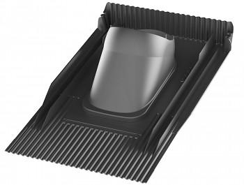 Univerzální průchodový prvek UNITILE - taška, černá RAL 9005