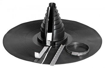 Těsnící průchodový prvek pro kulaté potrubí - RETROFIT