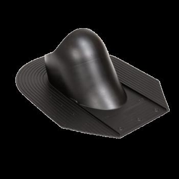 Průchodový prvek HS pro šindelovou/břidlicovou krytinu, černá RAL 9005