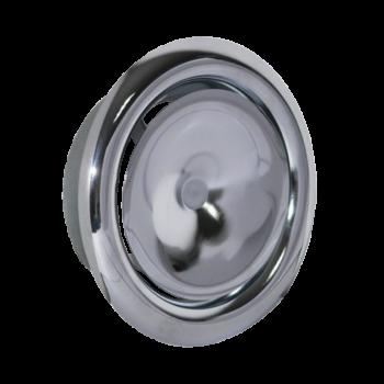 Talířový ventil přívodní KN-S Ø 125 mm - chrom