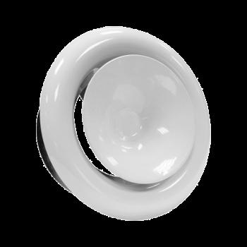 Kovový talířový ventil KKP Ø 200 přívod