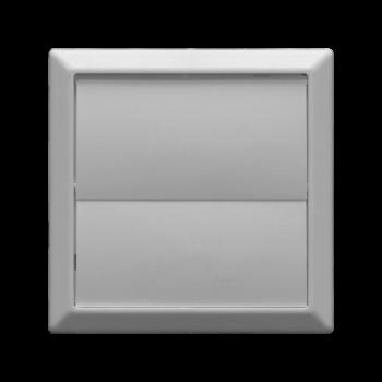 Větrací žaluzie bílá VP 55x110/154x154 HMZb