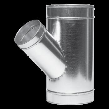 Odbočka jednostranná 45° 80 mm/80 mm - Vrácení zboží není možné