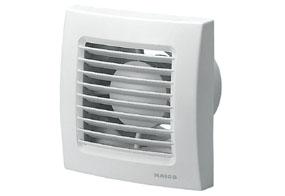 Ventilátor do koupelny Maico ECA 120 VZ (Zpožďovací časový spínač)