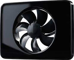 Ventilátor do koupelny Fresh Intellivent černý