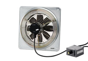 Axiální nástěnný ventilátor DZQ 25/2 B E Ex e