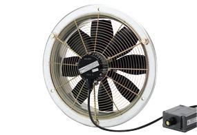 Axiální nástěnný ventilátor DZS 25/2 B E Ex e