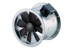Axiální potrubní ventilátor DZR 50/4 B E Ex e