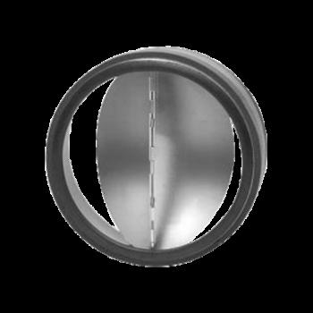 Zpětná klapka těsná s pérkem do potrubí Ø 100 mm / do potrubí
