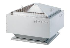 Radiální střešní ventilátor DRD 22/4 B